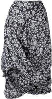 Vivienne Westwood floral draped skirt