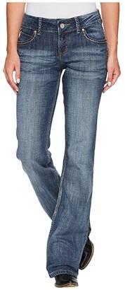Wrangler Retro Sadie Bootcut (Mid Wash) Women's Jeans