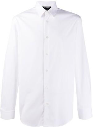 Les Hommes back print shirt