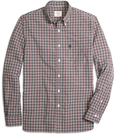 Brooks Brothers Black and Red Check Sport Shirt