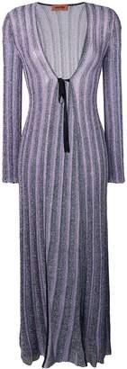 Missoni Glitter Knitted Long Cardigan