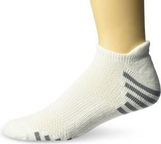Hanes Men's 6 Pack Big and Tall Heel Shield Short Cut Sock with Fresh Iq