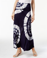 INC International Concepts Tie-Dyed Convertible Skirt, Only at Macy's