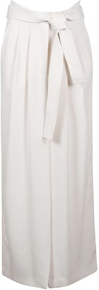 P.A.R.O.S.H. Panters Belt-tie Waist Long Dress