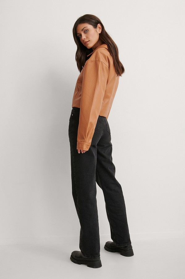 Thumbnail for your product : NA-KD Structure PU Short Jacket