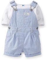 Carter's Tee and Shortalls Set - Girls newborn-24m