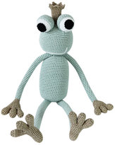 leggybuddy King Froggy Crocheted Stuffed Animal