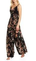 Elliatt Women's Salon Velvet Jumpsuit