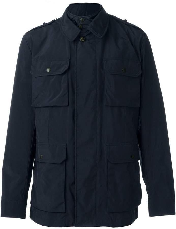 Moncler pocketed windbreaker jacket