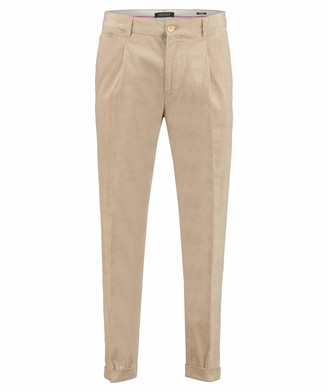 Scotch & Soda Men's Blake-Classic Corduroy Chino with Fixed Turn-up Trouser