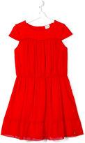 Armani Junior flared dress - kids - Cotton/Polyester/Spandex/Elastane/Modal - 15 yrs