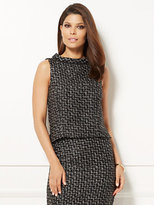 New York & Co. Eva Mendes Collection - Elettra Tweed Top
