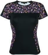 Versace Flower Thrift paneled T-shirt