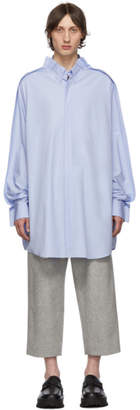 Maison Margiela Blue Long Shirt
