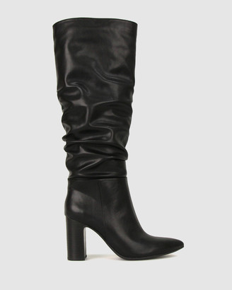 betts Women's Knee-High Boots - Kristy Block Heel Knee Boots - Size One Size, 6 at The Iconic