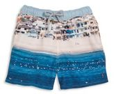 Pilyq Toddler's, Little Boy's & Boy's Graphic Swim Trunks