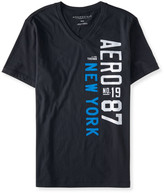Vertical Aero 87 V-Neck Graphic T