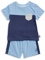 Splendid Splendid Pocket Tee and Shorts Set