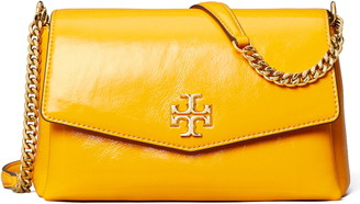 Tory Burch Small Kira Patent Leather Convertible Crossbody Bag