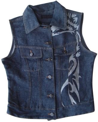 Jitrois Grey Cotton Leather jackets