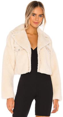 h:ours Oversized Lambo Jacket