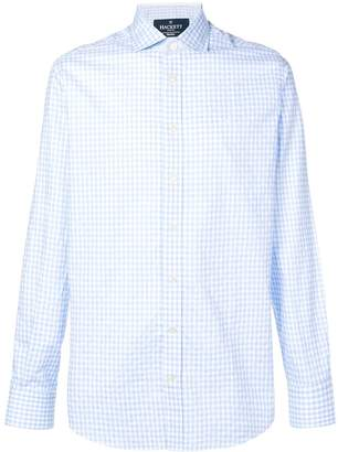 Hackett gingham print shirt