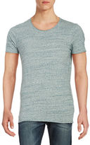 Selected Textured Cotton Tee