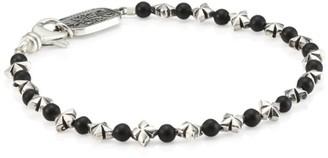 King Baby Studio Onyx & Sterling Silver Bracelet