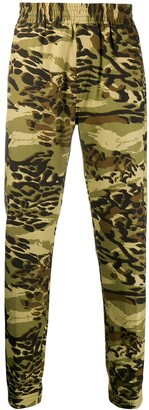 Givenchy Camouflage Jogger Trousers