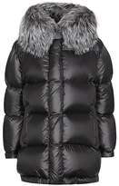 Prada Fur-trimmed down coat