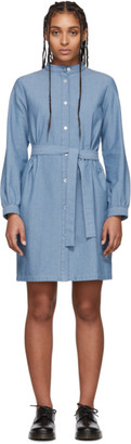 A.P.C. Blue Charlotte Dress