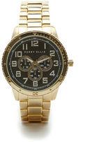 Perry Ellis Gold Tone Bracelet Watch