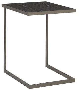Williston Forge Smeltzer End Table Williston Forge Color: Antique/Dark Gray