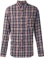The Elder Statesman deadstock flannel checked shirt - men - Cotton - XXS