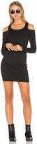 Chaser Cold Shoulder Bodycon Dress