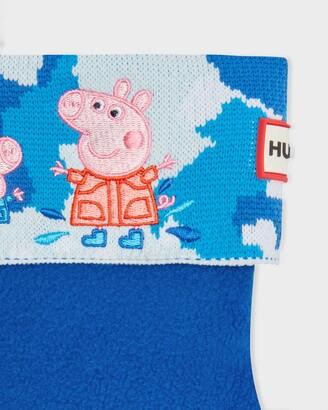 Hunter Kids Peppa Pig Muddy Puddles Boot Socks