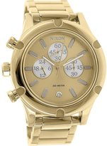 Nixon Women's Camden A3541219 Brass Plated Stainless-Steel Quartz Watch
