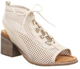 BearPaw Vienna Perforated Lace-Up Sandal