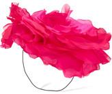 Eugenia Kim Ardelia Silk-organza Fascinator - Pink
