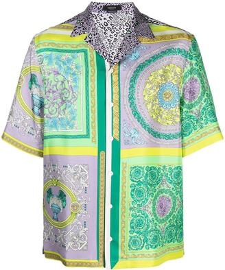 Versace Barocco Mosaic-print shirt