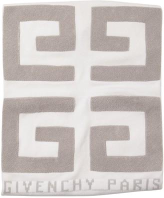 Givenchy Logo Cotton Blend Blanket