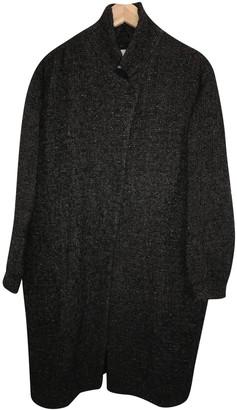 Humanoid Black Wool Coats