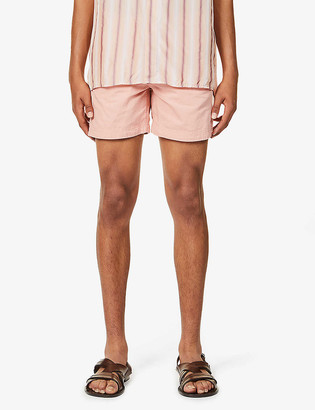 Orlebar Brown Bulldog mid-rise cotton and linen-blend shorts