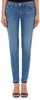 L'Agence Women's Chantal Low-Rise Skinny Jeans-BLUE