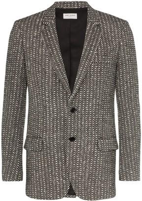 Saint Laurent Arceau single-breasted blazer