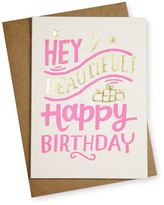 Oliver Bonas Hey Beautiful! Birthday Card