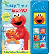 """Sesame Street Potty Time with Elmo"""" Little Sound Book"""