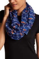 Printed Village Poolside Swimmers Infinity Scarf