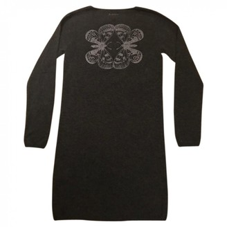 Berenice Grey Wool Dress for Women