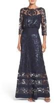 Tadashi Shoji Petite Women's Blouson Gown